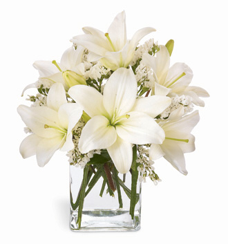 Enlarged image of Lush Lily Bouquet