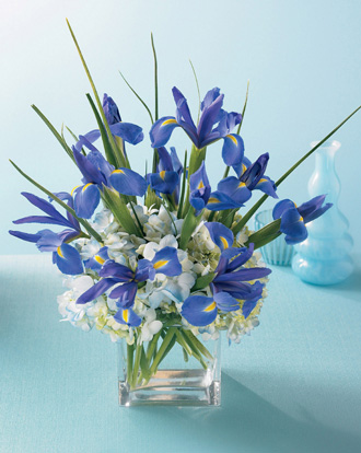blue flowers bouquet. Bountiful Beauty Bouquet