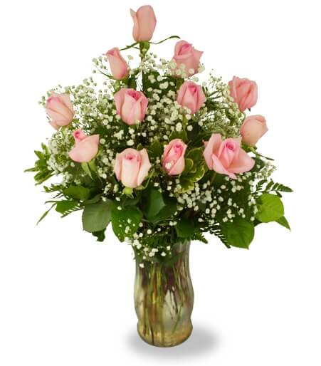 Medical city dallas hospital flower delivery by florist one gift shop precious pink roses mightylinksfo