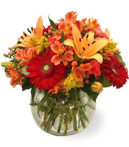 Orange Splash Bouquet
