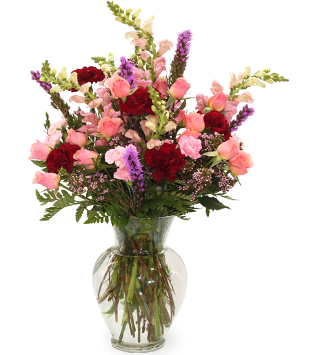 Gathered With Love Flower Arrangement