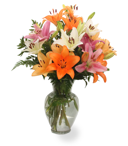 Lily Surprise Flower Arrangement