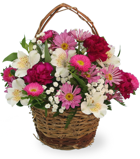 Happiness Flower Basket