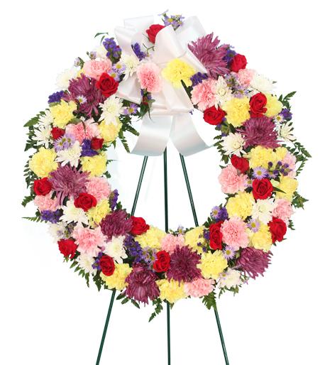 Life Salute Wreath