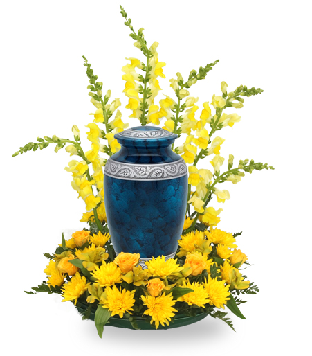 Angelic Urn Flower Arrangement