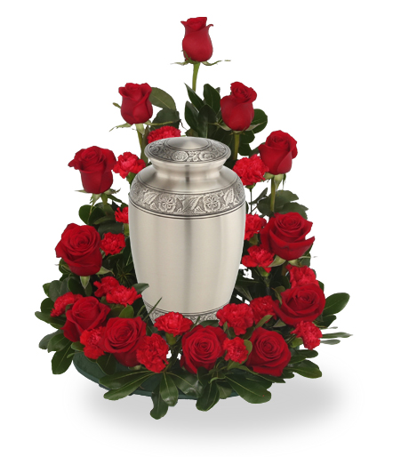 Eternal Love Flower Urn Arrangement