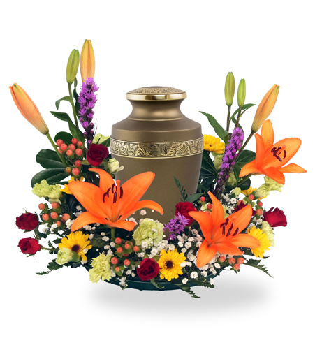 Eternal Splendor Urn Arrangement