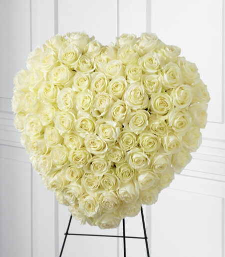 Funeral flowers for spouse