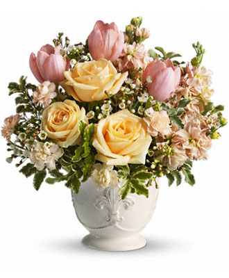 Teleflora's Peaches and Dreams  by Florist One