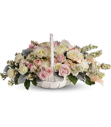 White Funeral Home Funeral Flowers