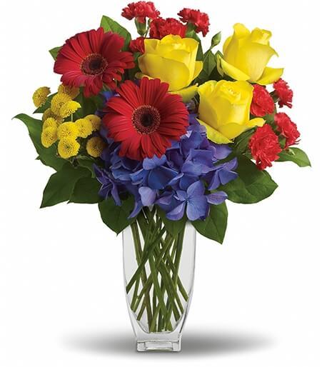 Sending Flowers For Him