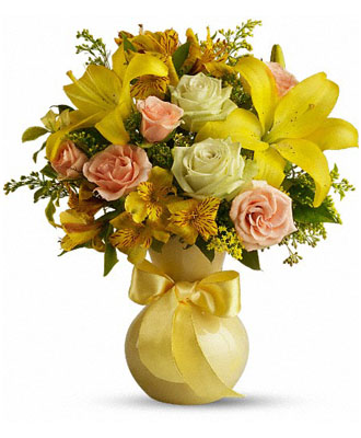 Enlarged image of Teleflora's Sunny Smiles
