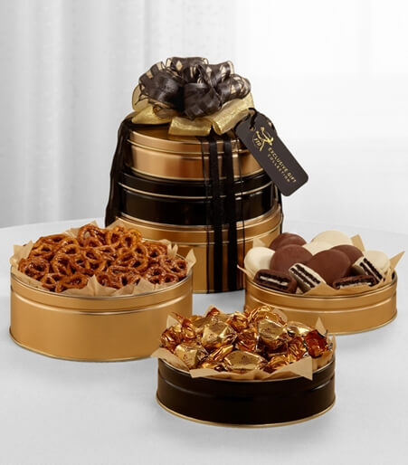 The FTD® Exclusive Signature Snack Tower