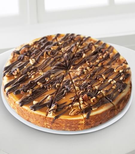Eli's Cheesecake Co. Turtle Cheesecake