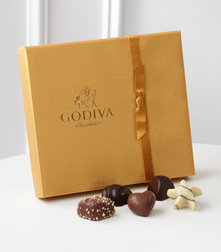 Godiva® Gold Ballotin Assorted Chocolates - 19-piece Box