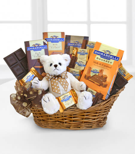 Ghirardelli® Caramel Hugs of Chocolate