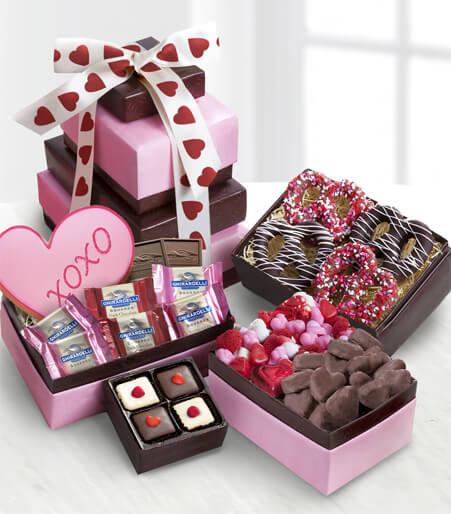 Sweet Tower of Love Gourmet Gift