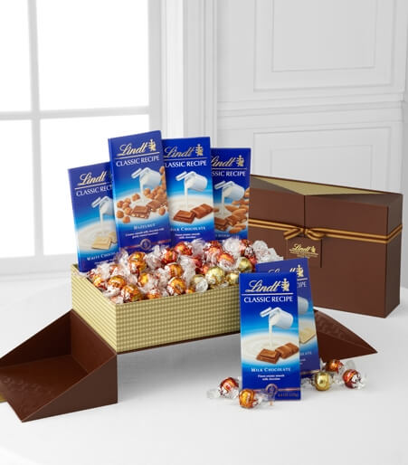 Lindt Gourmet Selections Gift Box
