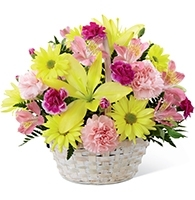 The Basket of Cheer Bouquet