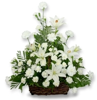 Serene Lily Basket