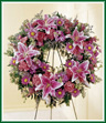 We Fondly Remember Funeral Wreath