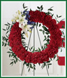 To Honor One's Country Funeral Wreath