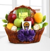 Fruitful Greetings Gourmet Gift Basket - Good