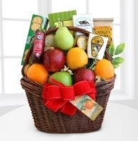 Fruitful Greetings Gourmet Basket