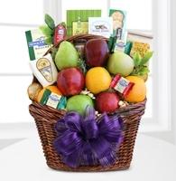 Fruitful Greetings Gourmet Basket - Best