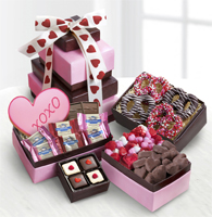 Sweet Tower of Love Gourmet Gift