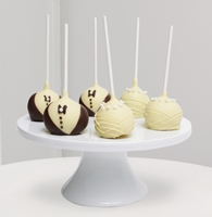 Golden Edibles™ Wedding Day Celebration Belgian Chocolate Dipped Cake Pops