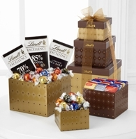 Lindt Fall Gift Tower