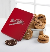 Mrs. Fields® Classic Tin with One Dozen Assorted Cookies